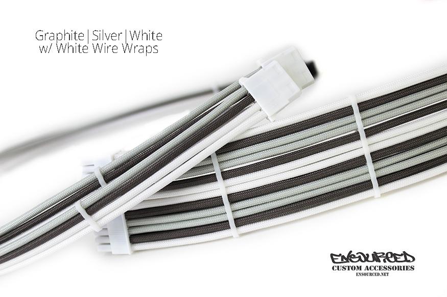 Graphite|Silver|White - Ensourced Custom Accessories